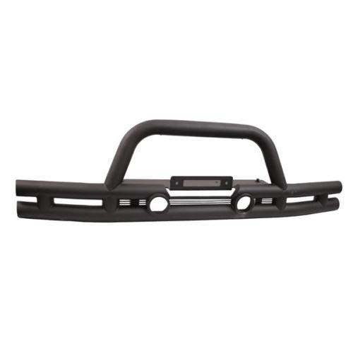 Outland Double Tube Bumper, Front, 3 Inch, Winch Ready; 07-18 Jeep Wrangler JK 391156111 ()