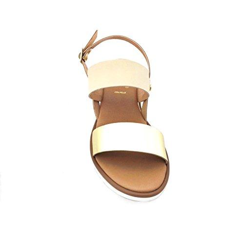 Mercante di Fiori  W6521, Damen Sandalen beige beige