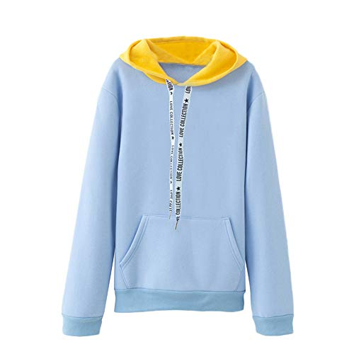 GOVOW Cyber Monday Shirts for Women Cotton Casual Soft Long Sleeve Cactus Print Hoodie Sweatshirt Hooded Pullover Tops Blouse