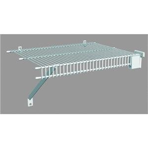 Tight Mesh Wire Shelving - 16 Inch by Organized Living