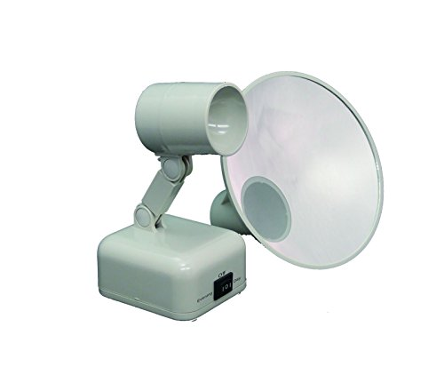 floxite 15x supervision magnifying mirror light dove white. Black Bedroom Furniture Sets. Home Design Ideas