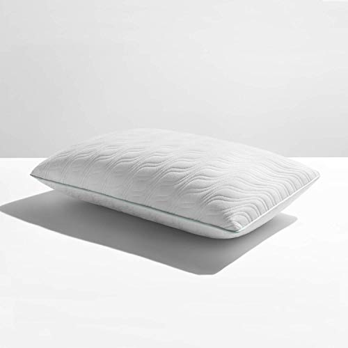 Tempur-Pedic TEMPUR-Cloud ProMid Pillow, King, White