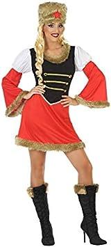 DISBACANAL Disfraz de Rusa para Mujer - -, M-L: Amazon.es ...