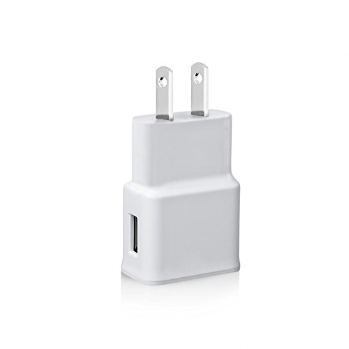 Price comparison product image USB Wall Charger, HLCT Universal 2A/10W USB Wall Charger Adapter for Apple iPhone and iPad, Samsung Galaxy smartphones and tablets, HTC, LG, Huawei, Nexus Smartphones and Tablets