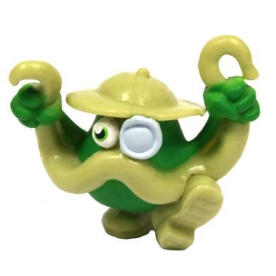 Moshi Monsters Series 3 Rare - Colonel Catcher