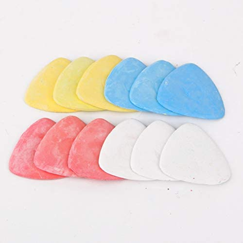 Tailors Chalk for Fabric Markers Sewing Triangle Tailors Chalks Sewing DIY Supplies for Tailoring Quilting Crafting Notions 20Pcs White /& Blue