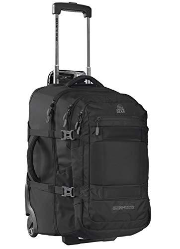 Granite Cross - Granite Gear Cross Trek 2 Wheeled Carry-On with 28L Removeable Backpack - Black/Flint 22