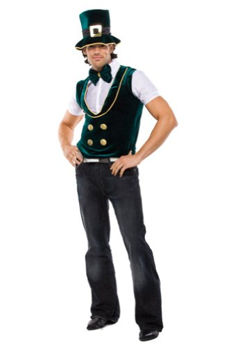 Leprechaun Lad Adult Costume - Mens Sm/Md