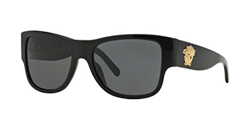 Versace Men's VE4275 Sunglasses Black / Gray - Versace Latest