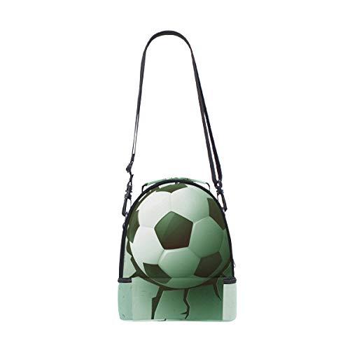 Tote Ball bandoulière isotherme Cooler Boîte à Sac à l'école Soccer Pincnic avec Alinlo pour réglable lunch U5Aq8wY