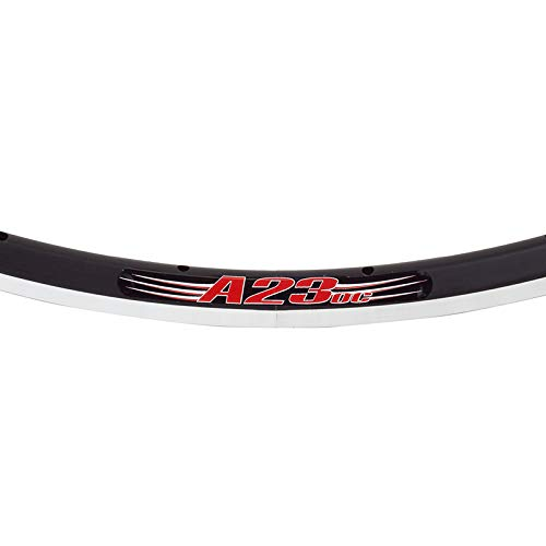 Velocity A23 O/C Clincher 700c Rim - 28H, Offset Spoke Bed, Black