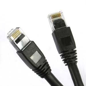 100Ft Cat.6A Patch Cable Molded Black