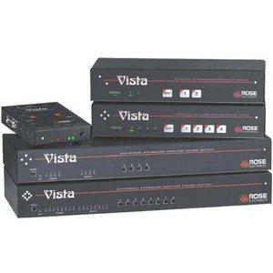 Rose Electronics KVM-4UPMH Vista Kvm Series - 2 Or 4 Port Kvm Switches 1u M-chassispc/apple 1 Kvm To 4 Cpu by Rose Electronics