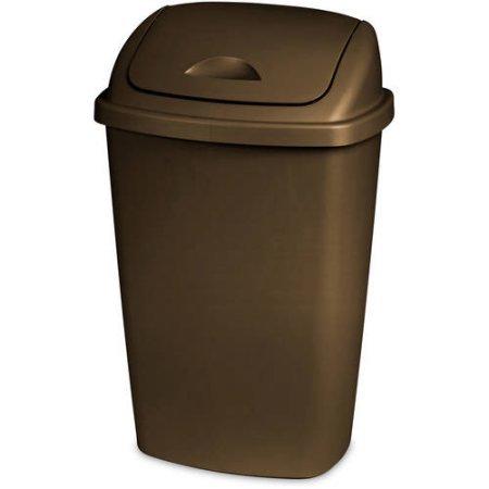 Dual Action Wastebasket - 8