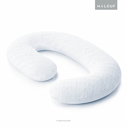 Z Total Body C-Shape Pregnancy Pillow - Wrap Around Ultra Supportive Sleeping Pillow