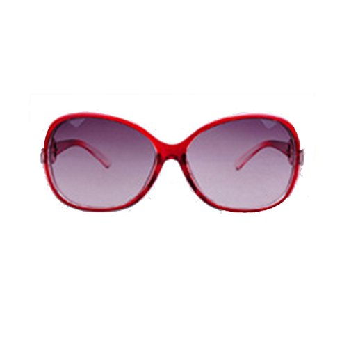 Lady Outdoor Stylish Trendy Color Colour Sun Glasses Lens Goggles WHITE BLACK RED COPPER - Goggles Trendy