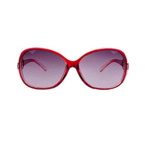 Lady Outdoor Stylish Trendy Color Colour Sun Glasses Lens Goggles WHITE BLACK RED COPPER - Lenses White Sunglasses