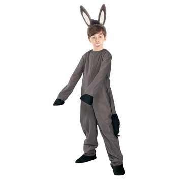 Shrek Childs Costume Donkey Costume Medium8-10 by Rubies