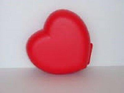 Tupperware Red Heart Snack Trinket Gift Box -  並行輸入品