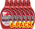 Hershey's Strawberry Syrup, 17.5-Ounce bottle (Pack of 6)