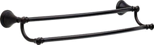 Delta Faucet 79725-RB Cassidy 24 Double Towel Bar SpotShield Venetian Bronze