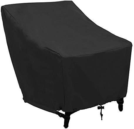 QUAN Storage Bags トラベル&to-Goの品質再利用可能な袋屋外防水防塵オックスフォード布折りたたみテーブルチェア保護袋家具セットカバー、サイズ:102x79x70cm(ブラック) (Color : Black)
