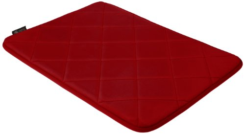 American Kennel Club Memory Foam Pet Bed, 24 by 17-Inch, Red