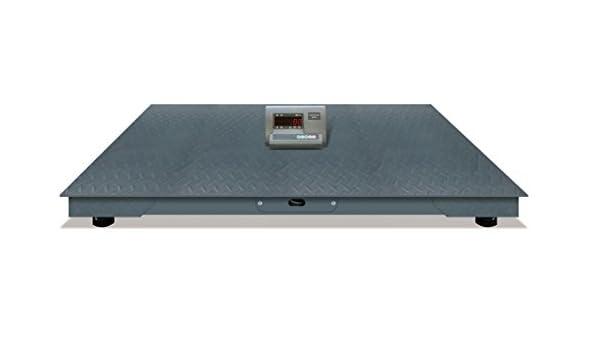 Bascula Industrial Suelo Plataforma 3 Toneladas para pesar Palets 1,2m: Amazon.es: Bricolaje y herramientas