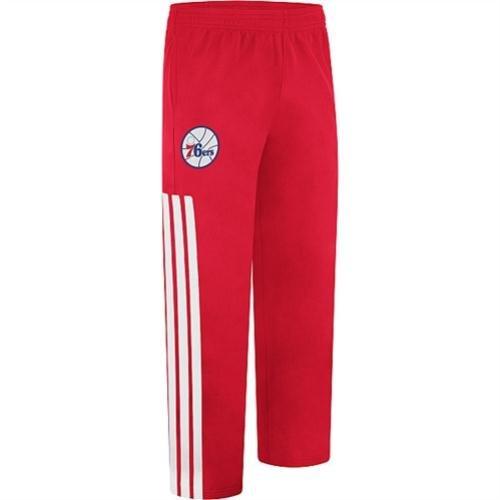 Philadelphia 76ers 2012-13 Adidas Red NBA On-court Warm up Pant (XL)
