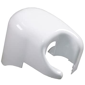 Fiamma F45i Right Hand Motorhome Awning End Cap Cover Polar White 04274 01C
