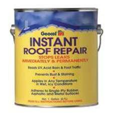 Geocel 25300 Instant Roof Repair Brushable Coating, 1 Gallon, ()