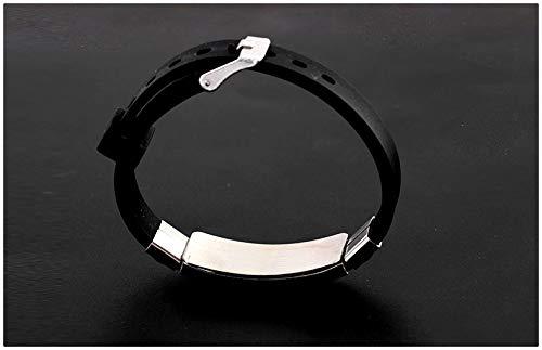 HAMISS BTS Bracelet Kpop Stainless Steel Silicon Wristband Anti Rust Wristband Wristlet Gift Army Bracelet V