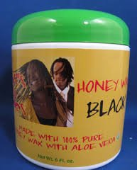 Twist'N Loc Honey Wax - Black 6 oz. (Wax Twists)