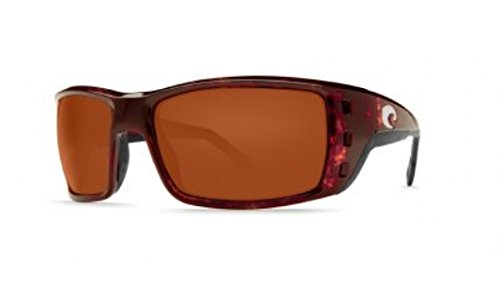 - Costa Del Mar Sunglasses - Permit- Glass / Frame: Shiny Tortoise Lens: Polarized Copper Wave 580 Glass