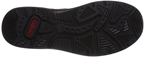 Rieker 14765 - zapatilla deportiva de material sintético hombre negro - Schwarz (schwarz/schwarz/schwarz/schwarz / 01)