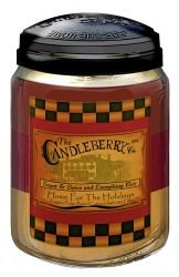 Candleberry Home for The Holidays 26 oz. Large Jar Candle by Candleberry