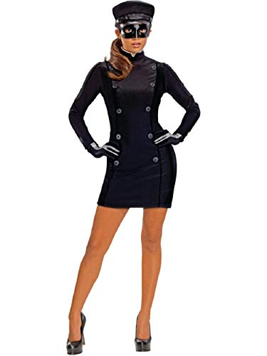 Secret Wishes Green Hornet Sexy Kato Costume, Black, X-Small