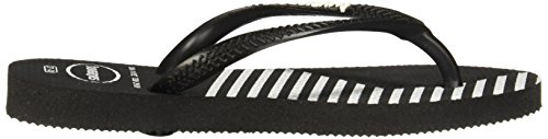 Colors Women Flip Flops Black Havaianas Block Slim w1X0ROfxq