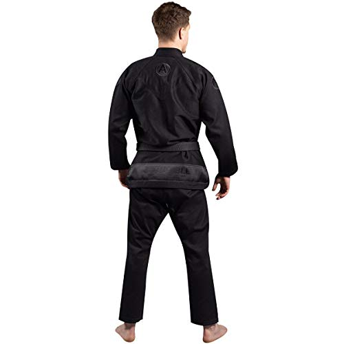 SCRAMBLE Athlete 4 Luxury 550gsm+ Brazilian Jiu-Jitsu Gi - A2 - Midnight Edition