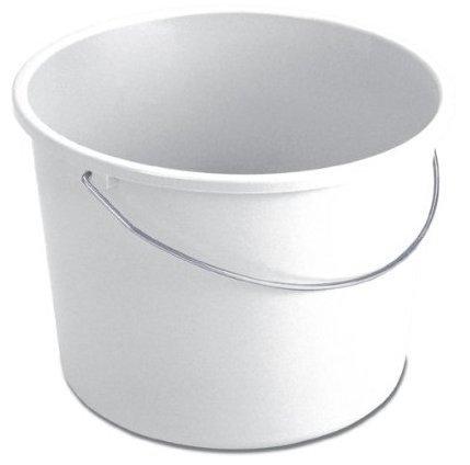 White Plastic 5 Quart Handy Utility Pail - Bucket