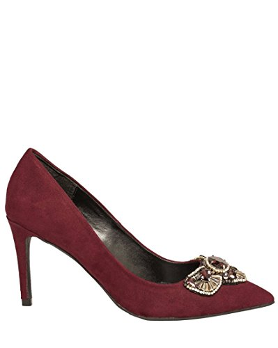 LE CHÂTEAU Women's Bejeweled Pointy Toe - Pumps Bejeweled