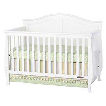 Amazon.com: Harper Convertible para cuna, color blanco: Baby