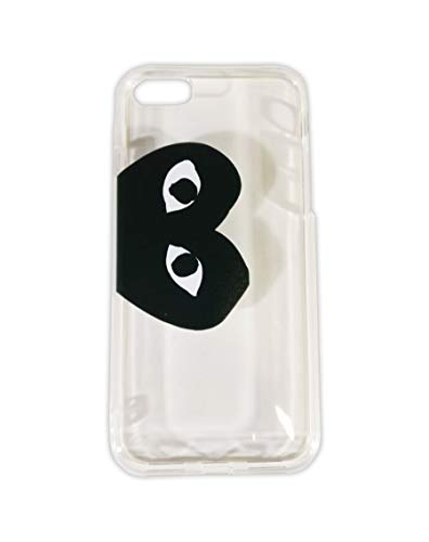 Comme des Garcons CDG Play Black Heart Logo Transparent Color PVC iPhone 7 Plus | iPhone 8 Plus Mobile Phone Case