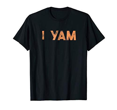 I Yam Shirt Shes My Sweet Potato Matching Couple Valentines ()