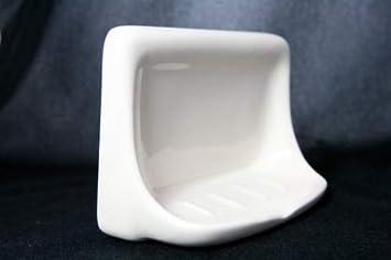 4 X 6 3326 White Tile In Ceramic Soap Dish Home Improvement