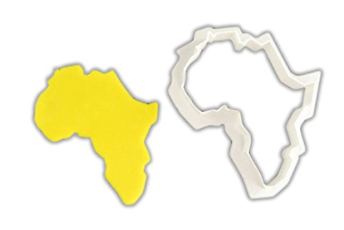 Africa Cookie Cutter - STANDARD - 3 Inches (Continents Cookie Cutters)