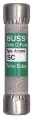 Cooper Bussmann Sc-30Bc 30A Type Sc Cartridge Fuse - Quantity 3 Fuses, Cartridge Electrical