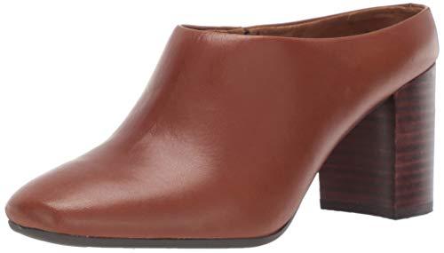 Aerosoles Women's CAST Stone Sneaker, Dark tan Leather, 7.5 M US