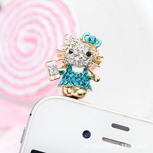 Dust Plug 3.5mm Cute Cartoon Bear Design Mobile Phone Ear Cap Dust Plug For Iphone Andriod And All Of 3.5mm Headphone Hole Handsome Appearance
