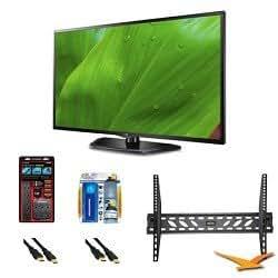 LG 32LN5700 32-Inch 1080p 120Hz Dual Core LED Smart TV Mount Bundle